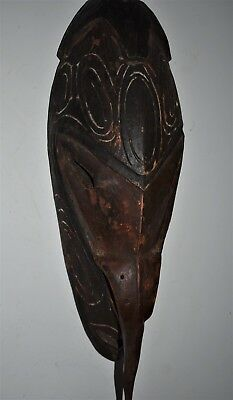 orig $499 PAPUA NEW GUINEA RITUAL MASK EARLY 1900S 16IN PROV