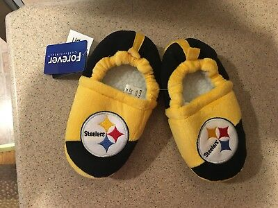 27ae041b PITTSBURGH STEELERS COLORBLOCK Slide Slippers New Style NFL - $21.95 ...