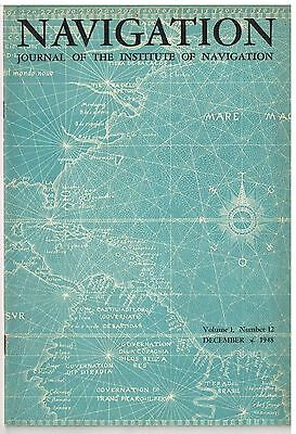 13  Copies  NAVIGATION  Journal of the Institute of Navigation  1945-1952