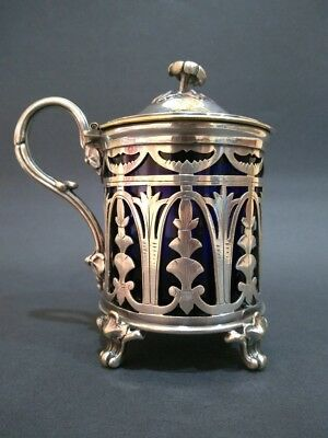 CHRISTOFLE Superb French Silver Plated Sugar Bowl Napoleon III circa 1870