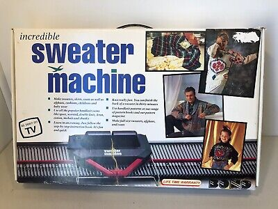 Bond Incredible Sweater Machine BRAND NEW Knitting As Seen On TV