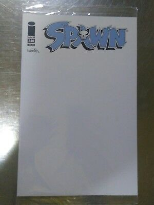 Spawn #240 Blank Cover Mexican Edition - Todd McFarlane!