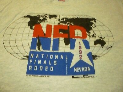 National Finals Rodeo 1992 Vintage Shirt ( Size L ) NEW DEAD STOCK!!!