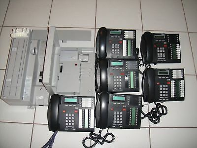 Nortel Norstar Business Phone System with sic(6) Phones plus Caller ID