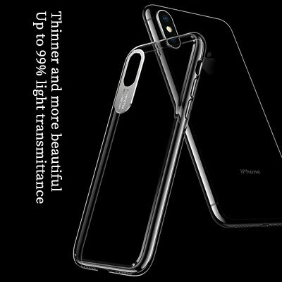 For iPhone XS Max XR X Luxury Ultra Slim Clear Shockproof Hard Hybrid Case Cover