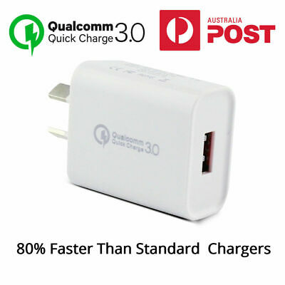 AC Wall Charger USB Adapter for iPad 6 7th Gen iPhone X XS XR 11 Samsung S9 S10
