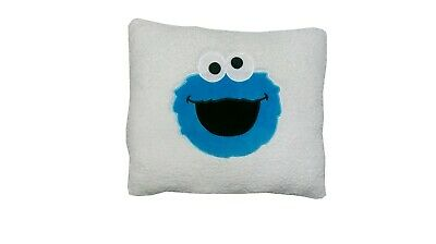 Cookie Monsters Sesame Street Sherpa Pillow Unique See Details