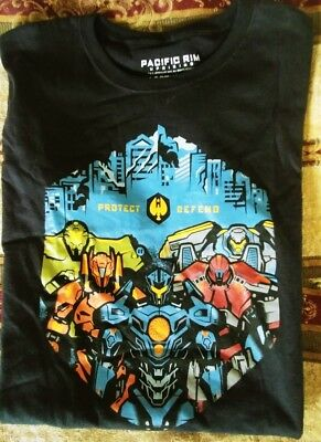 Loot Crate Loot Wear EXCLUSIVE Pacific Rim Uprising Shirt, women's XL!