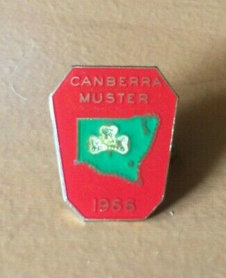 1966 Girl Guides Canberra Muster Badge