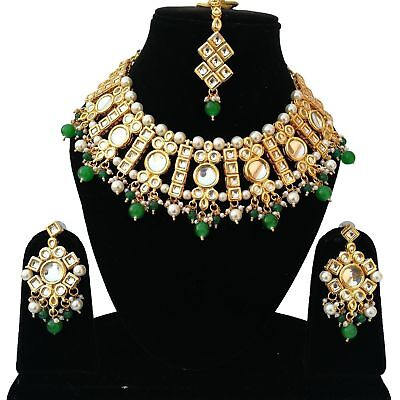 Fashion Jewelry Indian Bollywood Kundan Ethnic Traditional Gold Plated Earrings Jewelry Jc 3 Jewelry Sets