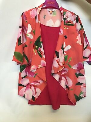 Girls TED BAKER Summer Vest & Blazer Set Age 12 Years WORN ONCE