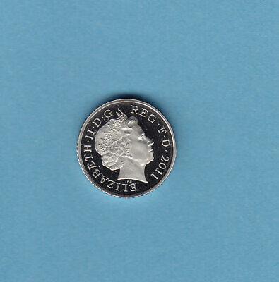 2011 5p Five Pence Coin Proof - From Royal Mint Set