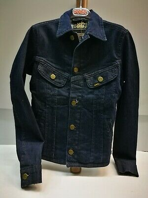 Giubbino Jeans Bambino / Bambina Lee Fitted Jacket Slim Elastic #4672