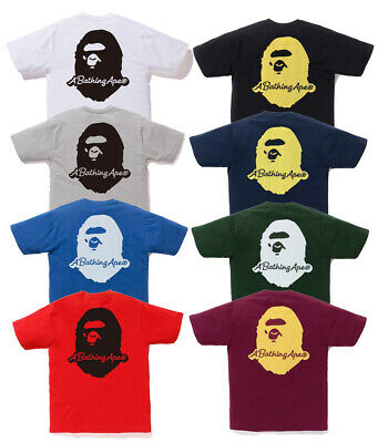 0ce4be41a A BATHING APE Men's PIGMENT A BATHING APE PATCH TEE 8colors From Japan New