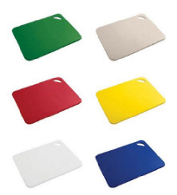 Extra Large Colour Coded Chopping Board | Chop Cutting | Choice of Colours