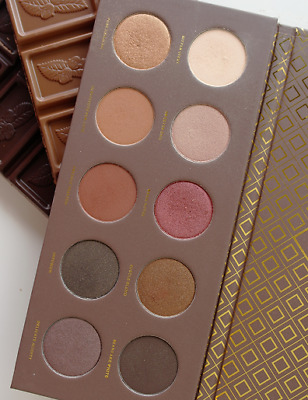 ZOEVA COCOA BLEND Eyeshadow Palette .Full Size. Boxed 10 Colour X 1.5gr