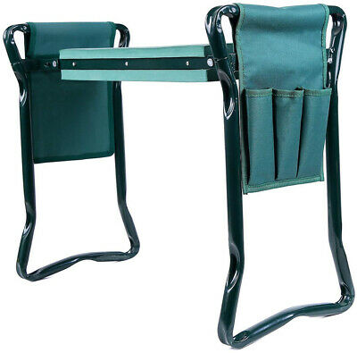 Lightweight Garden Kneeler And Seat With 2 Bonus Tool Pouches Kneeling Pad Chair