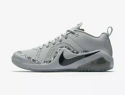 3cf340d21f0 New  120 Nike Force Zoom Trout 4 Turf Shoes Mike Trout 917838-002 Grey Sz