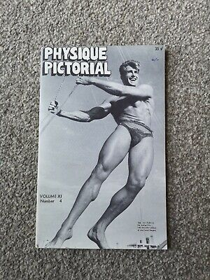 PHYSIQUE PICTORIAL - Vintage Gay Interest Magazine - Vol 11 Number 4 (May 1962)