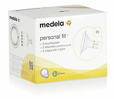 Medela PersonalFit 2 Breast Shield x2 - Large, 27 mm - Brand New