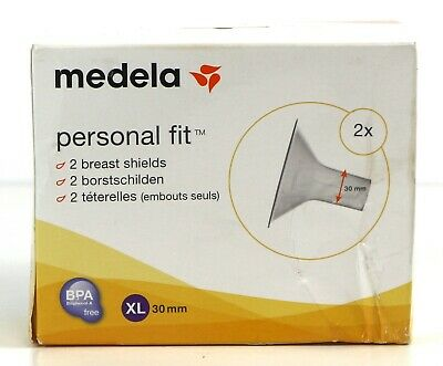 Medela PersonalFit 2 Breast Shield x2 - Extra Large, 30 mm - Brand New