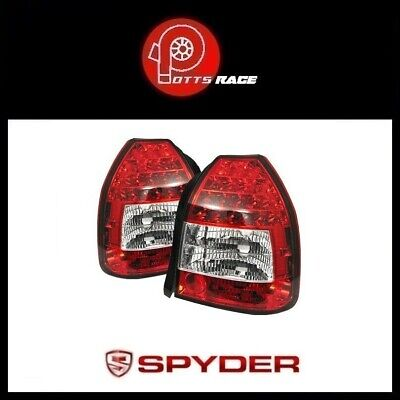 Spyder Automotive Red Clear Led Tail Lights For 1996 2000