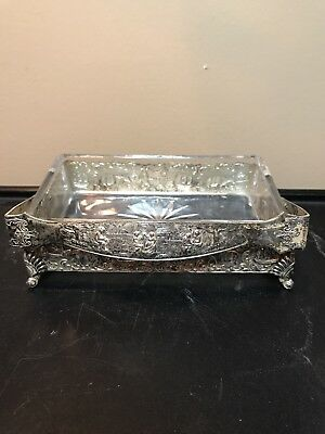 Vintage Candy Dish. Holland Wear. Scheffield on copper. Amazing detail