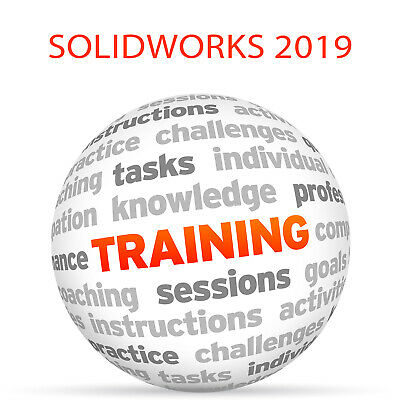 SOLIDWORKS 2019 - Video Training Tutorial DVD