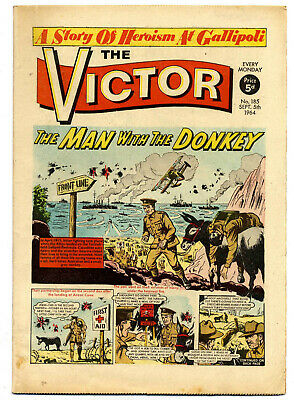 The Victor 185 (September 5, 1964) very high grade copy
