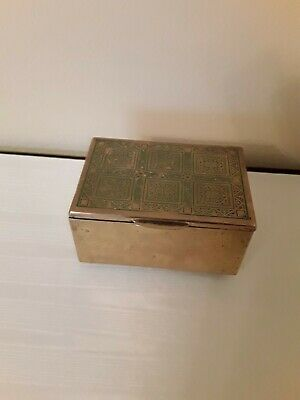 Antique Metal Box 1840 AD