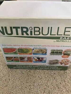 Nutribullet Baby Food Processor Blender. Very Good Condition, Great For Weaning.