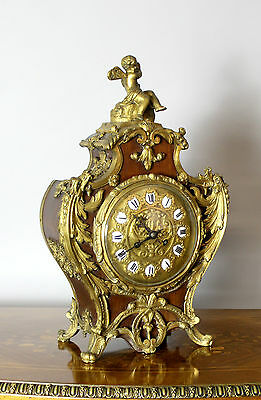 Japy Freres, Beaucourt Ormolu Mantle Clock
