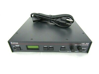 Extron VSC 500 Video Scan Converter w/ Power Cord