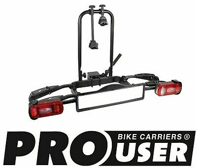 Pro User Ruby + 2 Bike Towball Mounted Cycle Carrier