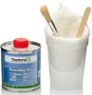 250g Fibreglass Repair Kit - GRP, Glass Fibre, Resin, Boat, Car, Roofing