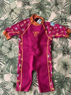 Splash About Girls Full Suit - Age 2-4 Years - Preloved