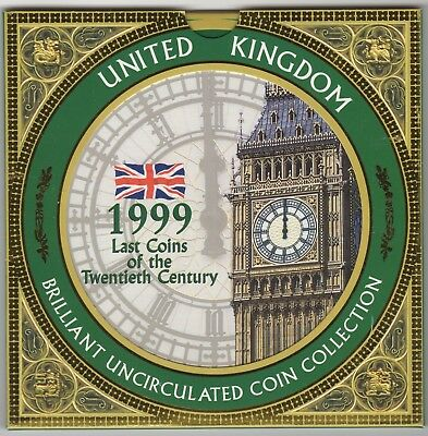 1999 United Kingdom Brilliant Uncirculated Coin Collection | Pennies2Pounds