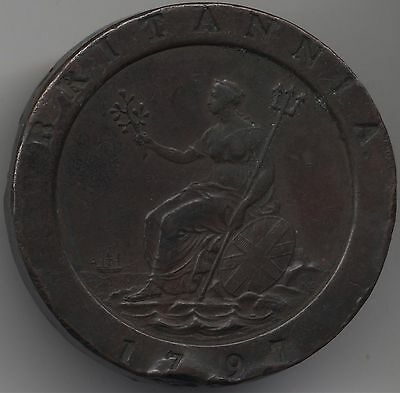 1797 George III Twopence | British Coins | Pennies2Pounds
