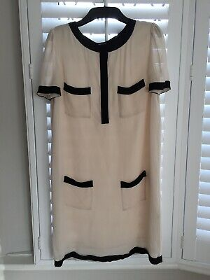 ce14f370581 BY MALENE BIRGER womens Gold shift Dress Size 36 - $39.99 | PicClick