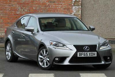 2015 Lexus IS 2.5 Executive Edition Lexus Navigation PETROL/ELECTRIC silver CVT