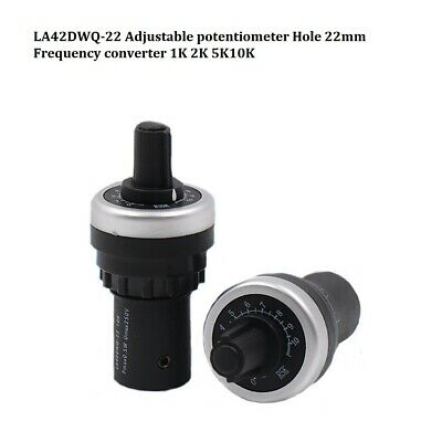 LA42DWQ-22 Adjustable potentiometer Hole 22mm Frequency converter 1K 2K 5K10K