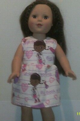 "18/"" doll clothes-fits American Girl Generation My Life-Dress-Ditzy Bow"