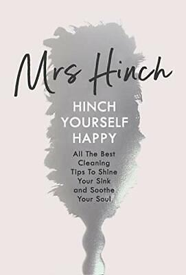 Hinch Yourself Happy: All The Best Cleaning Tips  by Mrs Hinch New Hardback Book