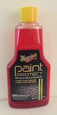 Paint Protect, 1An De Durabilite Meguiars A36516-473Ml Made In Usa