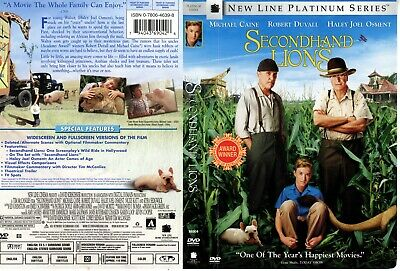 Secondhand Lions - Dvd -  Like New - Michael Caine, Robert Duvall