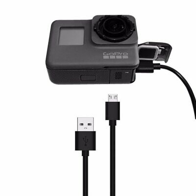 GoPro Hero 5 6 7  USB Type C Data Sync Black Charger Power Cable