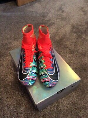 new style 80b47 348b9 NIKE MERCURIAL SUPERFLY V 5 EA Sports Size 8 US - $90.00 ...