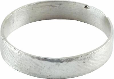 ANCIENT VIKING WEDDING RING NORSE BAND C.850-1050 AD size 9. 19.3mm