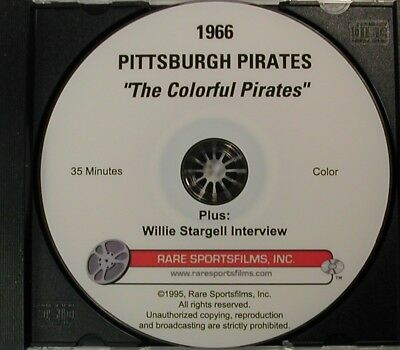 1966 Pittsburgh Pirates, Clemente, Stargell, Bob Prince on DVD!