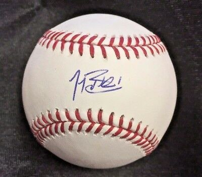 Matt Wieters Signed Official Mlb Ball Auto Orioles Baseball-mlb Sports Mem, Cards & Fan Shop